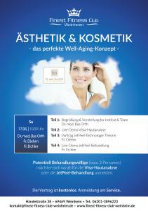 Ästhetik und Kosmetik mit Live-Demo am 17.06.17