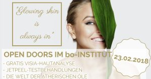 "OPEN DOORS – ""Glowing skin is always in"""